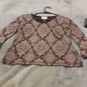 Poly dress top